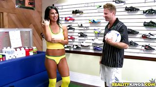 hot milf loves soccer!