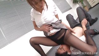 she dominates her employee
