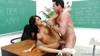 lexi takes a load @ peter north is the nasty teacher, scene #04