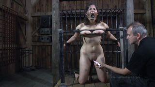 crazy device bondage and a dominant master
