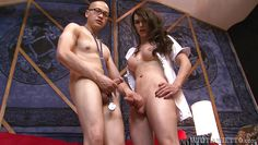 nurse nina fucks the doctor @ transsexual nurses #13