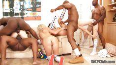 interracial teen orgy