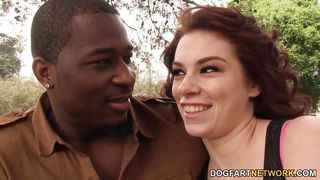 aubrey james enjoys every inch of her boyfriends bbc