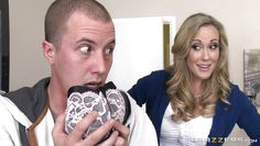 stepmom brandi catches her stepson sniffing her bras