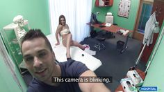 fake doctor bangs beautiful babe and shoots with handycam
