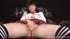 japanese schoolgirl masturbates