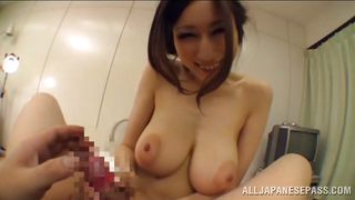 big boobs asian rides my dick