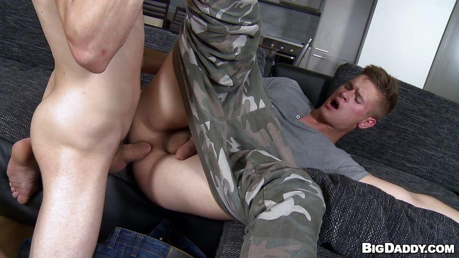 army anal lick Gay boys