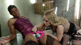 man slut gets shaved and fucked
