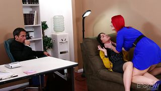 slutty dana gets seduced by crazy redhead milf