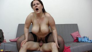 a deep hard fuck for a mature bbw