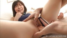 18 year old japanese slut moans as she is fingered