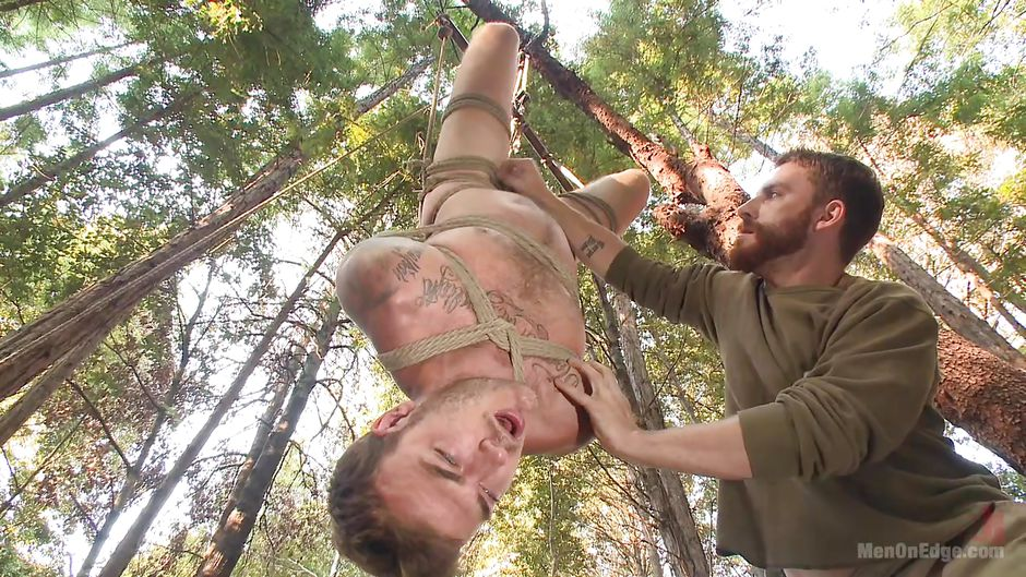 Men hairy balls bondage movie gay spitting