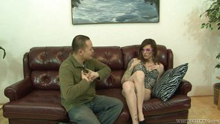 sucking on the tranny's toes @ transsexual road trip #16