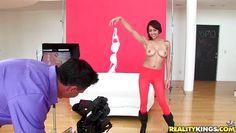 sensual latina likes to lick