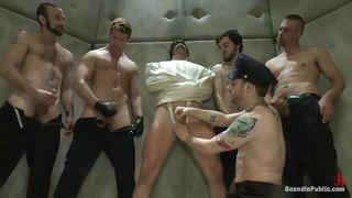 crazy gay gang bang