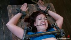 cutie immobilized and played with