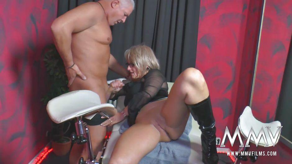 Lesbians using strapless strapon missionary style