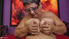 my horny busty granny
