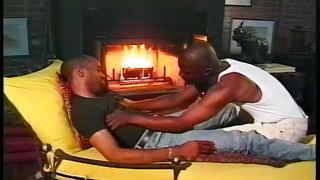 hot black hunks fuck by the fire