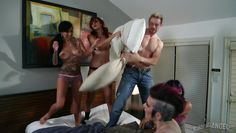 after the pillow fight