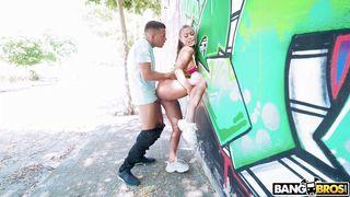 Passionate Couple Bangs In Public