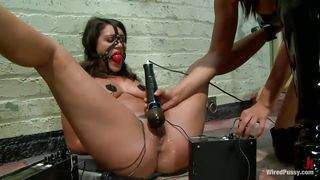 Lovely Charley Chase Gets Fistfucked In Bondage Session