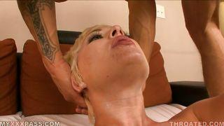 Myxxxpass-Mature Blonde Getting Mouthfucked PornZek.Com