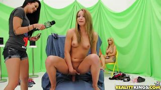 Babe Riding And Getting Fucked For Money