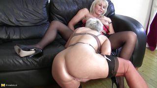 Mature Nl-Mature Blonde Lesbians Having Fun And Hard Sex PornZek.Com