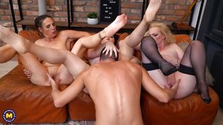 Mfff Foursome With Slutty Mature Ladies
