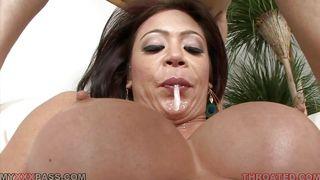 Big Tits Mia Lelani Swallowing A Cock PornZek.Com