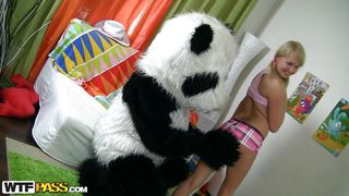 Wtf Pass-Mr. Panda With The Naughty Blonde PornZek.Com