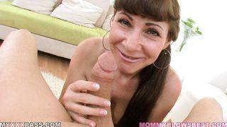Alexandra Silk Is A Silky Smooth Cocksucker! PornZek.Com
