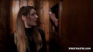 Private-Samantha Bentley Gets A Huge Facial In I Confess PornZek.Com