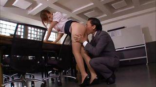 All Japanese Pass-Boss Fucking His Pretty Employee PornZek.Com