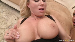 Brazzers-Hot Blonde With Big Tits Getting Fucked On Sofa PornZek.Com