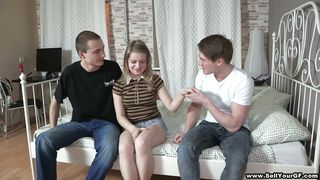 Sell Your Gf-Boy Sells Teen Gf To Another Man, Then Watches!!! PornZek.Com