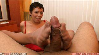 Aarielle Gives Great Head, Hand, Tit, Foot, Etc. PornZek.Com