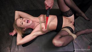 Karla Gets The Old Rope, Choke And Gag