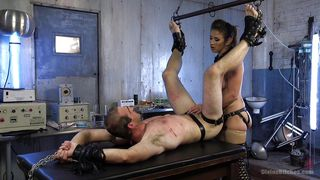Pegged By The Beautiful Mistress Felony
