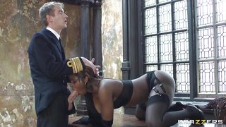 Brazzers-Black Girl Gets Some White Stuff PornZek.Com