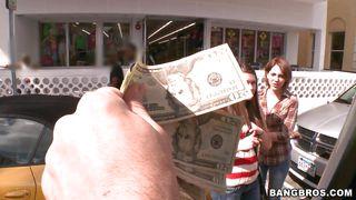 Hot Chicks Paied To Get On The Bang Bus PornZek.Com