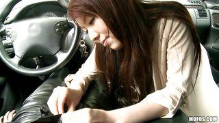 Mofos Network-Cute Asian Girl Getting Horny In A Car PornZek.Com