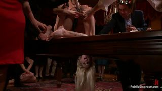 Kink-Blonde Slut Fucked With Sex Toys And Disgraced PornZek.Com