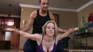 Brazzers-Mom Fucking Her Personal Fitness Trainer PornZek.Com