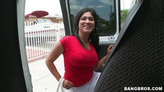 Latina Getting On The Bang Bus PornZek.Com