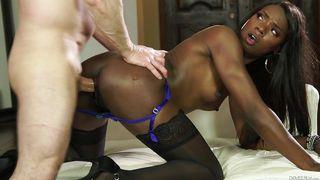 Interracial Couple Sucking And Fucking  I Like Black Girls #04
