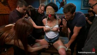Hot Asian Getting Punished In Public