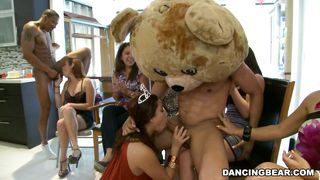 Party Grows Wild As The Bear Dance